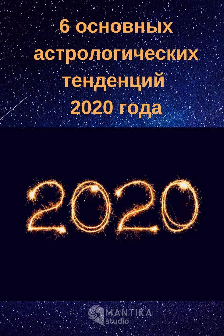 астрологические тенденции 2020 года